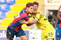 Levante UD's Alex Alegria (l) and Villareal CF's Pau Francisco during friendly match. July 30,2017. (ALTERPHOTOS/Acero)