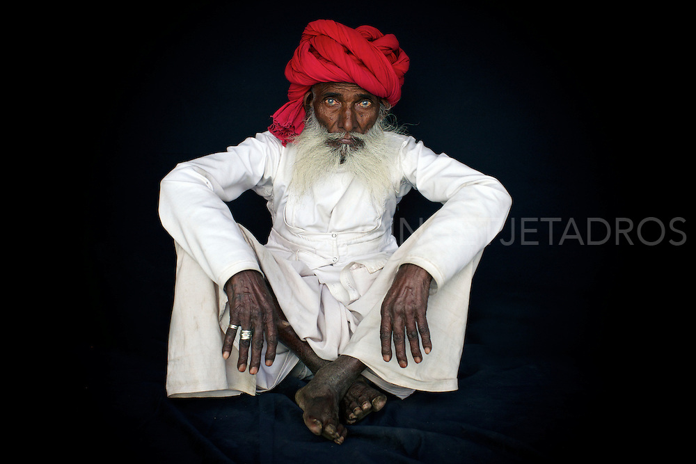 Exclusive at Getty Images.<br /> Rabari elder from Gujarat, India,2012<br /> BRONZE Award at the International Loupe Awards-Amateur-People@Portrait 2012.<br /> <br /> http://www.gettyimages.com.au/Search/Search.aspx?contractUrl=2&amp;language=en-US&amp;assetType=image&amp;p=ingetje+tadros#2