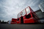 September 3-5, 2015 - Italian Grand Prix at Monza: Ferrari motorhome