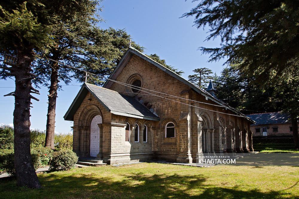 St. John's Church, a Protestant Church, was the first church built in Dalhousie.
