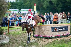 Ben Vogg, (SUI), Noe Des Vatys - Eventing Cross Country test - Alltech FEI World Equestrian Games™ 2014 - Normandy, France.<br /> © Hippo Foto Team - Leanjo de Koster<br /> 31/08/14