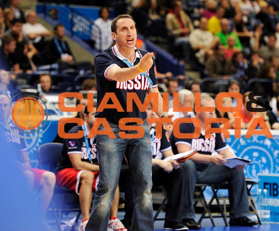 DESCRIZIONE : Vilnius Lithuania Lituania Eurobasket Men 2011 Second Round Grecia Russia Greece Russia<br /> GIOCATORE : David Blatt<br /> SQUADRA : Russia<br /> EVENTO : Eurobasket Men 2011<br /> GARA : Grecia Russia Greece Russia<br /> DATA : 10/09/2011<br /> CATEGORIA : ritrattio<br /> SPORT : Pallacanestro <br /> AUTORE : Agenzia Ciamillo-Castoria/JF Molliere<br /> Galleria : Eurobasket Men 2011<br /> Fotonotizia : Vilnius Lithuania Lituania Eurobasket Men 2011 Second Round Grecia Russia Greece Russia<br /> Predefinita :