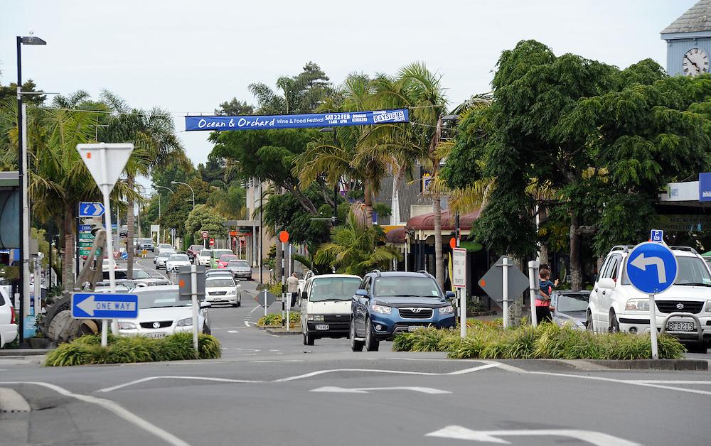 Kerikeri Road, shopping area, Kerikeri, New Zealand, Tuesday, February 04, 2014. Credit:SNPA / Ross Setford
