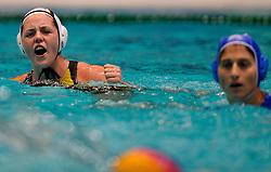 20-01-2012 WATERPOLO: EC GERMANY - GREECE: EINDHOVEN<br /> European Championships Germany - Greece / Claudia Kern<br /> ©2012-FotoHoogendoorn.nl