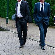 NLD/Blaricum/20110607 - Uitvaart Willem Duys, Harry van Hoof en Fred Oster