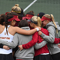 USC Women's Tennis v UCLA 2017