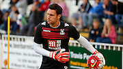 Alex McCarthy warming up before the Pre-Season Friendly match between Bromley and Crystal Palace at the Courage Stadium, Bromley, United Kingdom on 30 July 2015. Photo by Michael Hulf.