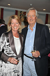 LORD & LADY DE RAMSEY at a evening with fashion label Lilah held at Quo Vadis, 26-29 Dean Street, London W1 on 29th May 2013.