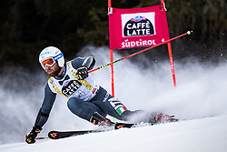 19.12.2016, Grand Risa, La Villa, ITA, FIS Ski Weltcup, Alta Badia, Riesenslalom, Herren, 1. Lauf, im Bild Riccardo Tonetti (ITA) // Riccardo Tonetti of Italy in action during 1st run of men's Giant Slalom of FIS ski alpine world cup at the Grand Risa race Course in La Villa, Italy on 2016/12/19. EXPA Pictures © 2016, PhotoCredit: EXPA/ Johann Groder