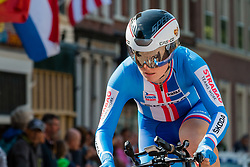 MACHACOVÁ Jarmila from CZECH REPUBLIC during Women Elite Time Trial at 2019 UEC European Road Championships, Alkmaar, The Netherlands, 8 August 2019. <br /> <br /> Photo by Pim Nijland / PelotonPhotos.com <br /> <br /> All photos usage must carry mandatory copyright credit (Peloton Photos | Pim Nijland)