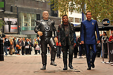 OCT 03 2012 Red Dwarf X launch