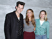 Mark Ronson, Charlotte Ronson and Annabelle Dexter-Jones attend the Charlotte Ronson presentation during the Mercedes-Benz Fall/Winter 2015 shows at the Pavilion in Lincoln Center in New York City, New York on February 13, 2015.