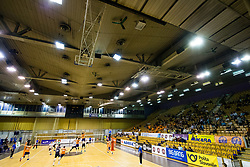 Overview of arena during 3rd Leg volleyball match between ACH Volley and OK Calcit Volley in Final of 1. DOL Slovenian National Championship 2017/18, on April 24, 2018 in Hala Tivoli, Ljubljana, Slovenia. Photo by Matic Klansek Velej / Sportida