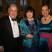London,England,UK. 31th March 2017: Lord David Brewer,Huilin Proctor attends the Athene Festival 2017 at Guildhall,London,UK. by See Li