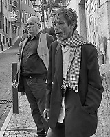 Movie Director. Morning Street Photography in Lisbon. Image taken with a Leica CL camera and 23 mm f/2 lens.
