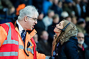 Stewards during the Premier League match between West Bromwich Albion and Crystal Palace at The Hawthorns, West Bromwich, England on 2 December 2017. Photo by Sebastian Frej.