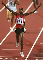 Friidrett. VM 2001 Edmonton. LIMO, Richard       Kenia<br />                   Leichtathletik     WM 2001  5000m Finale