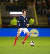 9th November 2017, Pittodrie Stadium, Aberdeen, Scotland; International Football Friendly, Scotland versus Netherlands; Scotland's Kenny McLean
