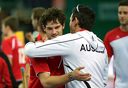 LEIZPIG - WC HOCKEY INDOOR 2015<br /> AUT v POL (QF 3)<br /> Foto: Austria won the match<br /> FFU PRESS AGENCY COPYRIGHT FRANK UIJLENBROEK