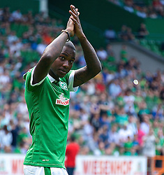 03.08.2014, Weserstadion, Bremen, GER, SV Werder Bremen, Tag der Fans, im Bild Eljero Elia (SV Werder Bremen #11) // during the supporters day of the german 1st Bundesliga Club SV Werder Bremen at the Weserstadion in Bremen, Germany on 2014/08/03. EXPA Pictures © 2014, PhotoCredit: EXPA/ Andreas Gumz<br /> <br /> *****ATTENTION - OUT of GER*****