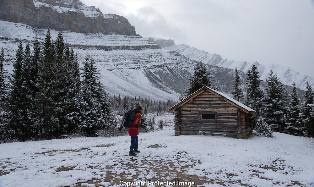 Hike to Skoki., Alberta, Canada, Isobel Springett