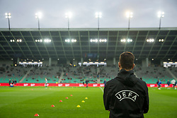 Referee during 1st Leg football match between NK Olimpija Ljubljana (SLO) and Qarabag FK (AZE) in First qualifying round of UEFA Champions League 2018/19, on July 11, 2018 in SRC Stozice, Ljubljana, Slovenia. Photo by Urban Urbanc / Sportida
