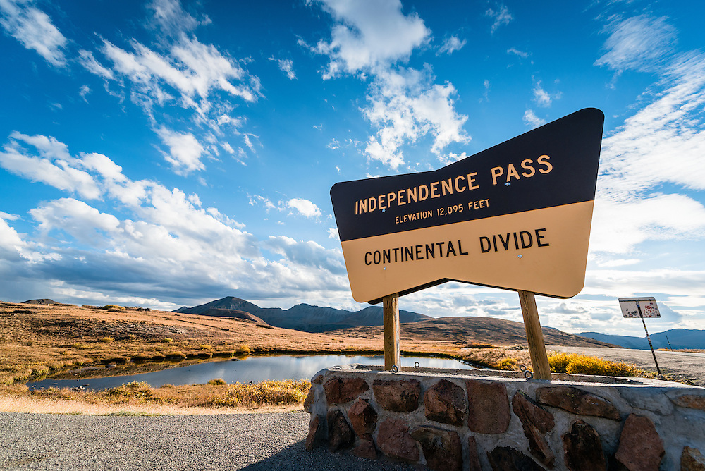 Independence Pass, Continetal Divide, CO