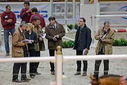 Jury : Boudewijn Schepers, Leon Floren, Jean Vilain, Stefaan Desmedt, Inge Meurrens, Jan Vleugels<br /> BWP Hengstenkeuring Moorsele 2009<br /> Photo © Hippo Foto