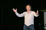 2019, June 04. JvE Studio, Almere, The Netherlands. Jochem Stavenuiter at the press presentation of Mammoet.