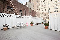 Patio at 409 East 51st St