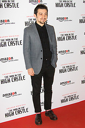 Curzon Bloomsbury, London, December 14th 2016. Celebrities attend the launch of Amazon Prime's European premiere for Season 2 of The Man In The High Castle. PICTURED: Craig Roberts,