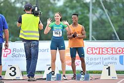 04/08/2017; Ferreira, Gabriela, T12, BRA at 2017 World Para Athletics Junior Championships, Nottwil, Switzerland