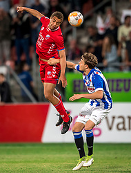 12-05-2018 NED: FC Utrecht - Heerenveen, Utrecht<br /> FC Utrecht win second match play off with 2-1 against Heerenveen and goes to the final play off / Cyriel Dessers #11 of FC Utrecht, Daniel Hoegh #3 of SC Heerenveen