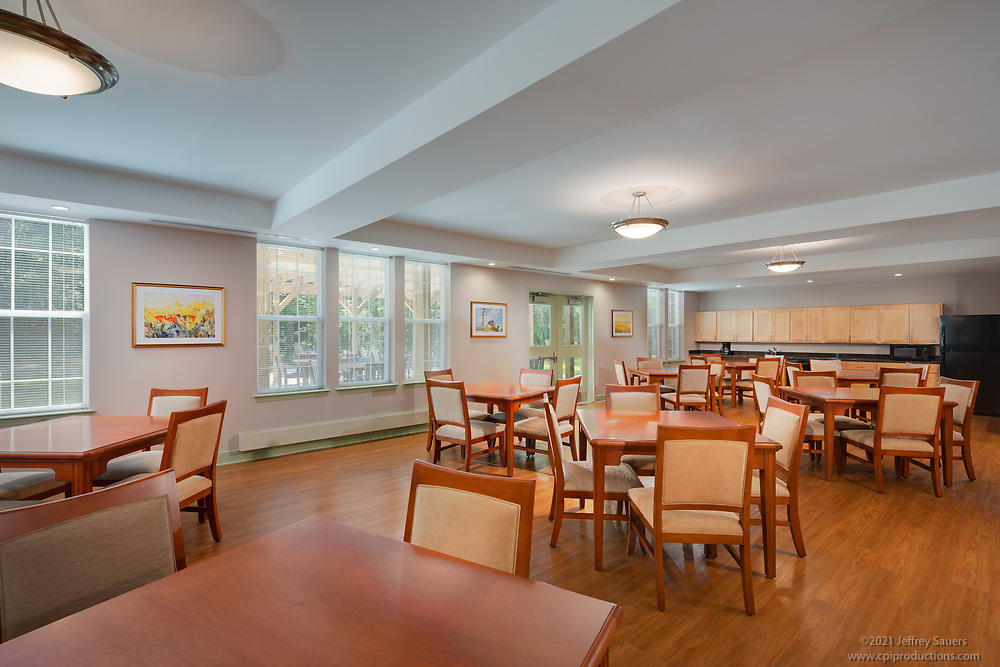 Interior design image of Naylor Mills Senior Apartments in Salisbury Maryland by Jeffrey Sauers of Commercial Photographics, Architectural Photo Artistry in Washington DC, Virginia to Florida and PA to New England