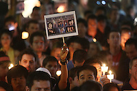 June 03, 2009; Santa Monica, CA - Candlelight vigil at Third Street Promenade for Euna Lee and Laura Ling, two American journalists who have been detained in North Korea for nearly three months...Photo Credit: Darrell Miho