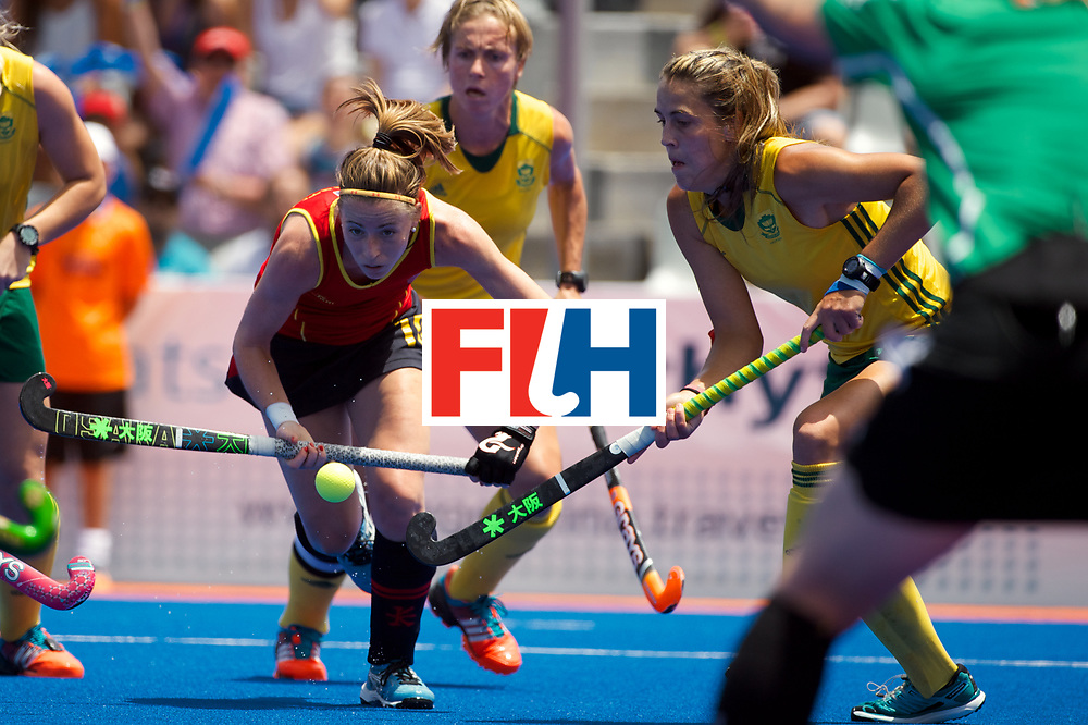 RIO 2016 Olympic qualification, Hockey, Women, match for 5th/8th place, South Africa vs Spain :  Berta Bonastre
