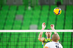 Nimir Abdel-Aziz of the Netherlands during friendly volleyball match between National Men teams of Slovenia and Netherlands, on December 30, 2019, in Arena Stozice, Ljubljana, Slovenia. Photo by Sinisa Kanizaj / Sportida