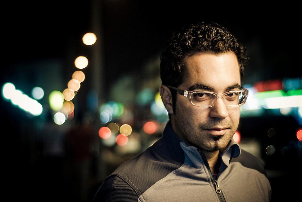 Mahmoud Kaabour, filmmaker, Dubai March 19, 2008