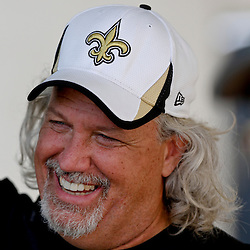 Aug 3, 2013; Metairie, LA, USA; New Orleans Saints defensive coordinator Rob Ryan during a scrimmage at the team training facility. Mandatory Credit: Derick E. Hingle-USA TODAY Sports