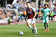 Burnley defender Matthew Lowton (2) in action during the Premier League match between Burnley and Arsenal at Turf Moor, Burnley, England on 12 May 2019.