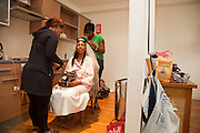 Julian & Chanel's Wedding Photography, Bridal Preparation at the Ice House, Nottingham