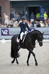 Bruntink Vai, NED, Ebony<br /> World Championship Young Dressage Horses <br /> Ermelo 2016<br /> © Hippo Foto - Dirk Caremans<br /> 29/07/16