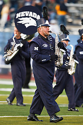 September 17, 2010; Reno, NV, USA; The Nevada Wolf Pack band performs on the field before the game against the California Golden Bears at Mackay Stadium. Nevada defeated California 52-31.