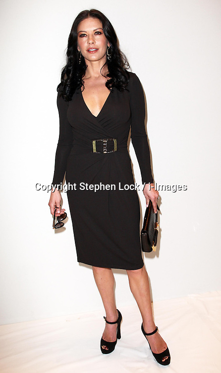 Catherine Zeta-Jones at the Michael Kors show at New York Fashion Week , Wednesday, 12th  September 2012. Photo by: Stephen Lock / i-Images.
