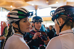 Back from the track, Elena Cecchini starts her first European race of the year for CANYON//SRAM Racing - Ronde van Drenthe 2016, a 138km road race starting and finishing in Hoogeveen, on March 12, 2016 in Drenthe, Netherlands.