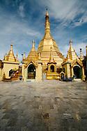 Golden stupa at Sule Pagoda