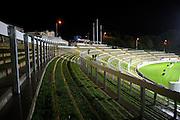 The new terrace seating at Yarrow Stadium. ITM Cup rugby match - Taranaki v Tasman Makos at Yarrow Stadium, New Plymouth, New Zealand on Friday 6 August 2010. Photo: Dave Lintott/PHOTOSPORT