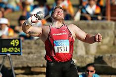20040818 Olympics Athens 2004 Kuglestød, Finale på det Antikke Olympiske Stadion