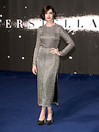 The European premiere of 'Interstellar' at Odeon Leicester Square on October 29, 2014 in London,