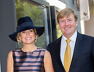 "King Willem-Alexander and Queen Maxima opened the exhibition ""Mapping Australia"", 03-10-2016"